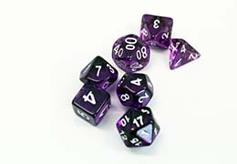 Dice sides, D4 - D20, and face types explained