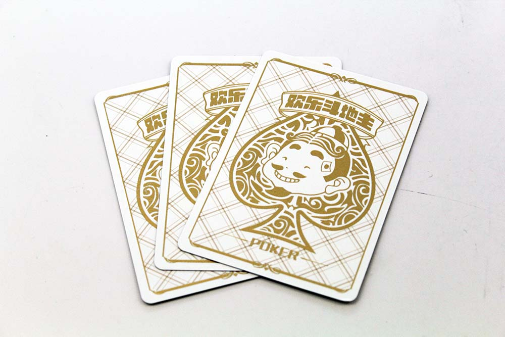 Gold Foil Stamping on Cards
